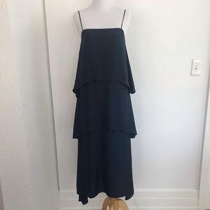 Banana Republic's blue layered dress.